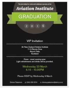 AirNZ Graduation